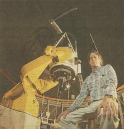 Image of Dan Caton at the DSO 32-inch telescope